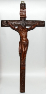 Crucifix, Germany, early 20th century