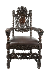 Armchair, Gdańsk, second half of 19th century