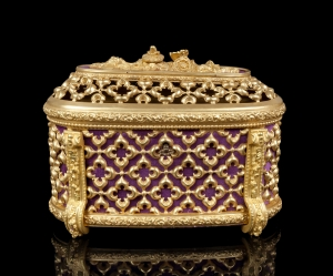 Casket, Tahan, Paris, half of the 19th century