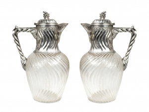 Pair of Carafes, France