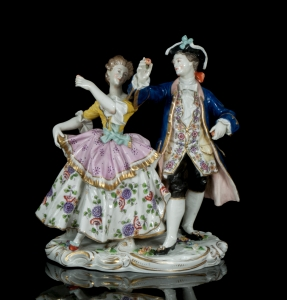 Figural group, Royal Vienna Porcelain, Vienna, 19th century