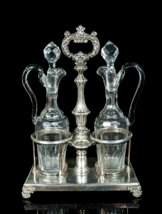 Condiment Set, Charles Balaine, Paris, circa 1830