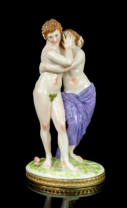 Adam and Eve, Volkstedt, 1915-36
