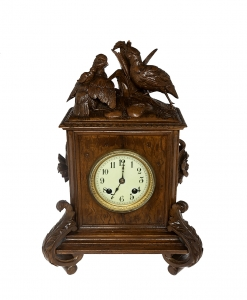 Cabinet Clock, Schwarzwald, Germany, 19th century