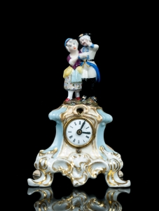 Miniature Clock, France, late 19th century