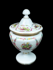 Biedermeier Punch Bowl, Austria-Hungary, half of the 19th century